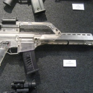 Clear G36K my personal favorite