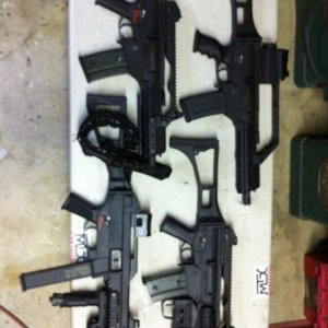 # G36C conversion variants, SBR's and a UMP conversion , SBR